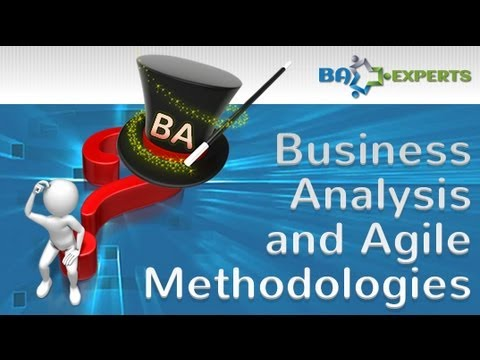 Business Analysis And Agile Methodologies - Youtube