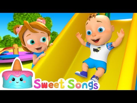 Outdoor Playground Song | Nursery Rhymes & Children Songs