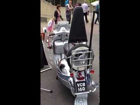 Quadrophenia Scooter collection and Quadrophenia Lorry Beaulieu TRUCKMANIA 24th and 25th May 2015
