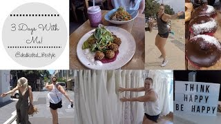 Ep 6: 3 Days with me! // Full workouts // Wedding dress shopping // Sex ed lesson?