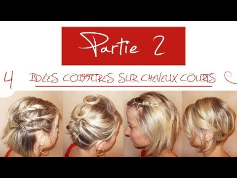Idee coiffure pour soiree cheveux court