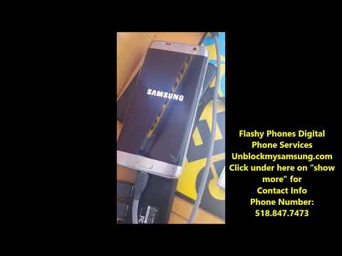 GALAXY S7 EDGE SIM UNLOCK! BOOTLOADER LVL 6 SPRINT! FREE NO REMOTE
