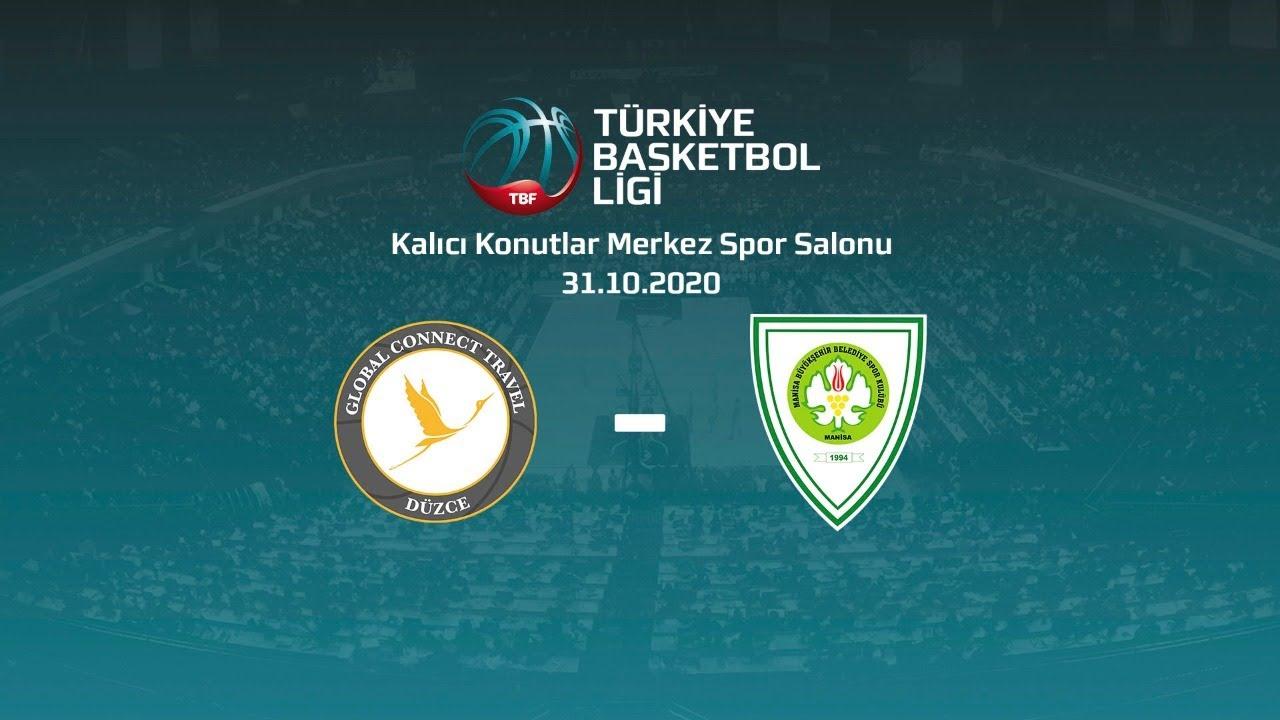 Global Connect Travel Düzce – Manisa Büyükşehir Belediye Spor TBL 3.Hafta