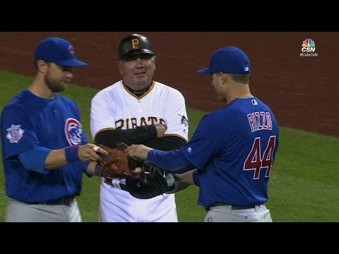 CHC@PIT: Rizzo, Zobrist switch positions for Taillon