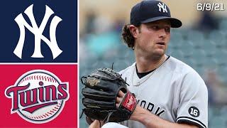 New York Yankees @ Minnesota Twins   Game Highlights   6/9/21