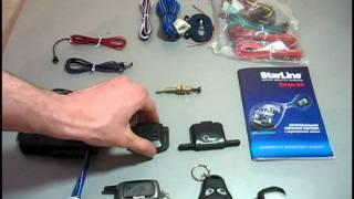 видео Преимущества и установка сигнализации Старлайн A9