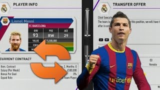 What Happens if MESSI and RONALDO swap Clubs on FIFA 17? FIFA 17 Myths