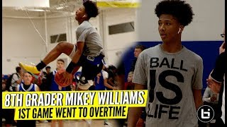 Mikey Williams 1st Game Of The Season Overtime Thriller! Ballislife Highlights