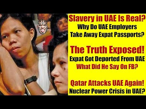Are Expats In UAE Slaves? Does UAE Care About Expats Losing Money? Qatar Attacks UAE Again!