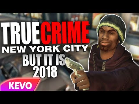 True Crime: New York City but it's 2018