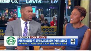 Men arrested at Starbucks were there for business meeting hoping to ch