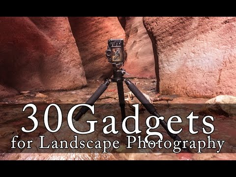 30 Best Gadgets and Accessories for Landscape Photography