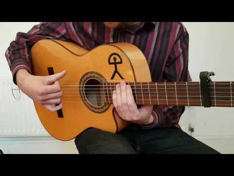 Algerías Intermediate to Advanced Falseta with Arpeggio | Flamenco Guitar Lesson