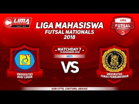 UBL VS UTP MEN'S LIMA FUTSAL NATIONALS 2018