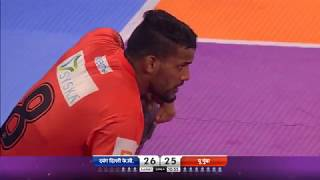 Pro Kabaddi 2018 | Dabang Delhi K.C vs U Mumba | Match Highlights | HINDI
