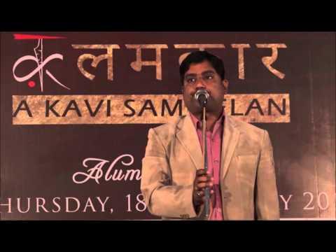 Stand-Up Comedy by Kavi Hemant Pandey @ KalamKaar Kavi Sammelan DDUC | कलमकार कवि सम्मलेन