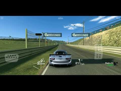 Real Racing 3 EAST/WEST Throwdown Race 3 Cup Suzuka In Porsche 918 RSR Concept