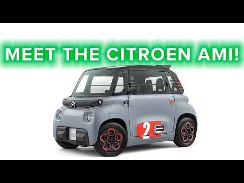 Ride News Now: The Citroën Ami is the cutest little EV!