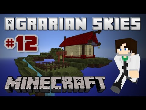 Minecraft FTB Agrarian Skies - Ep 12 - Autocrafting