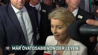 Megválasztása után már óvatosabban fogalmaz Ursula von der Leyen  19-07-19