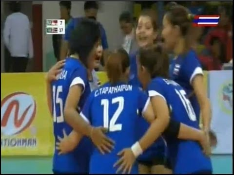 ไทย - อินโดนีเซีย :วอลเลย์บอลหญิงซีเกมส์ครั้งที่ 27 :19.12.2013
