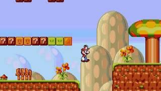 Mario 4: Space Odyssey (MD/GEN Bootleg) Gameplay