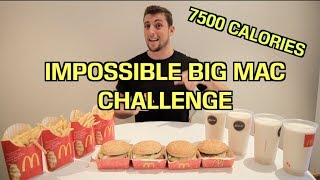 The IMPOSSIBLE Big Mac Challenge | Matt Stonies RECORD BEATEN!