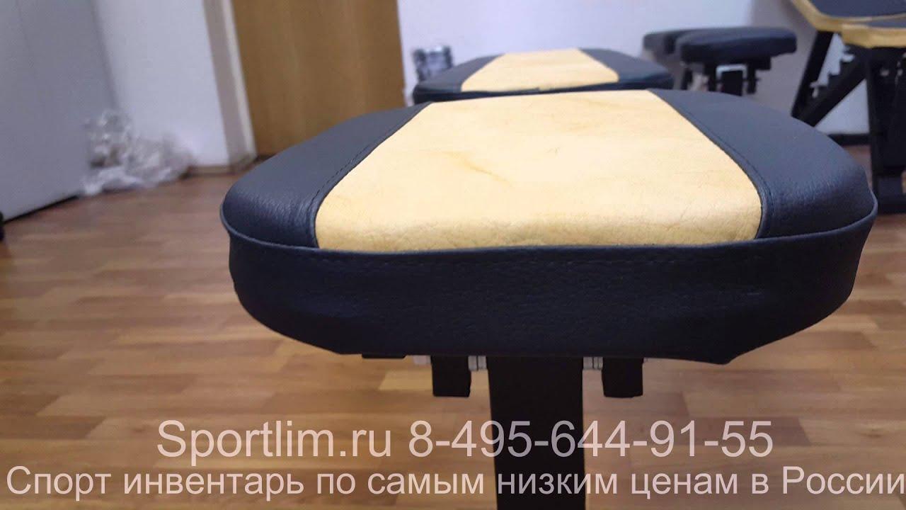 Размеры Скамьи для жима и Стойка для штанги. - YouTube