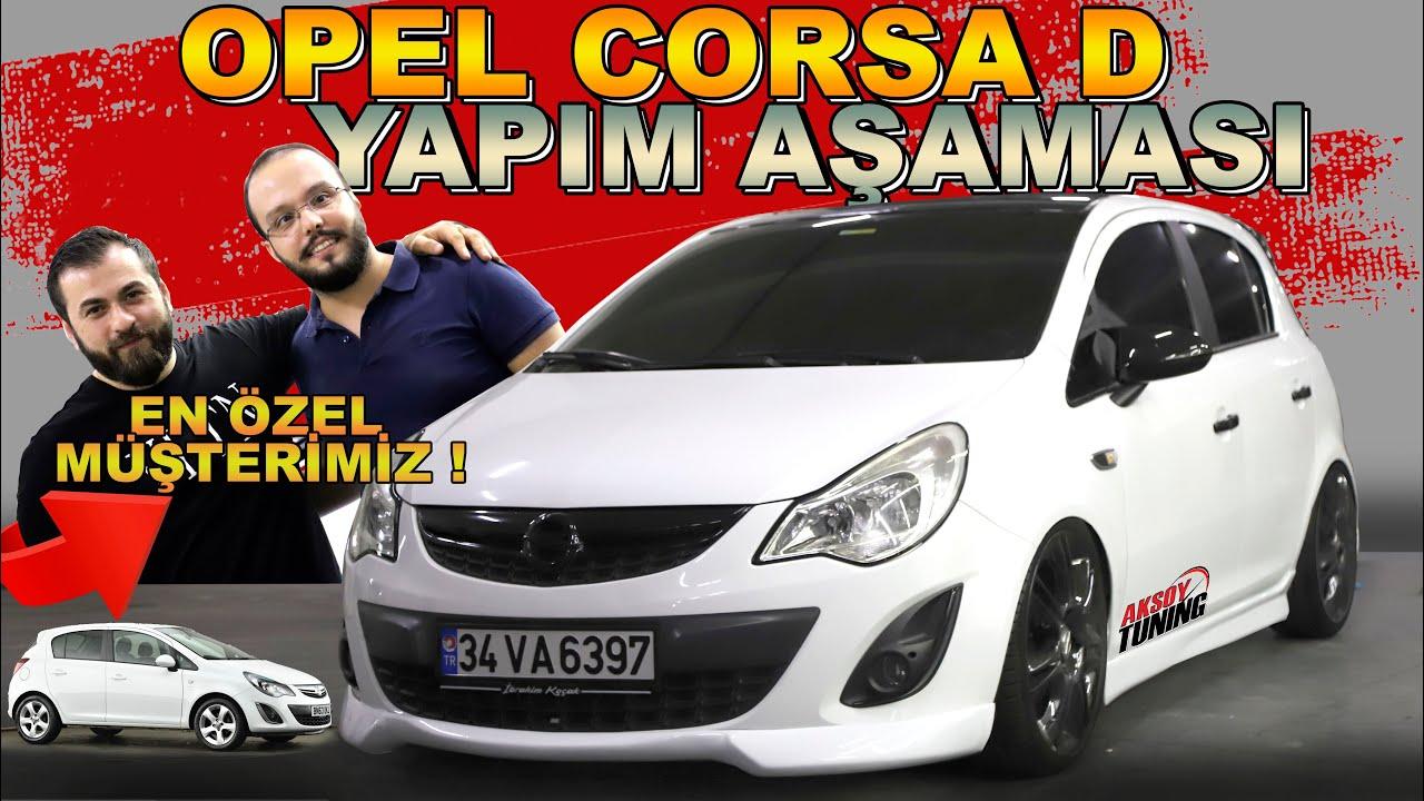 En Özel Müşterimiz ! Opel Corsa D Yapım Aşaması !