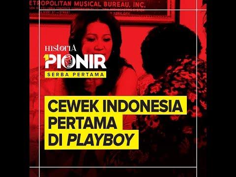 CEWEK INDONESIA PERTAMA DI PLAYBOY