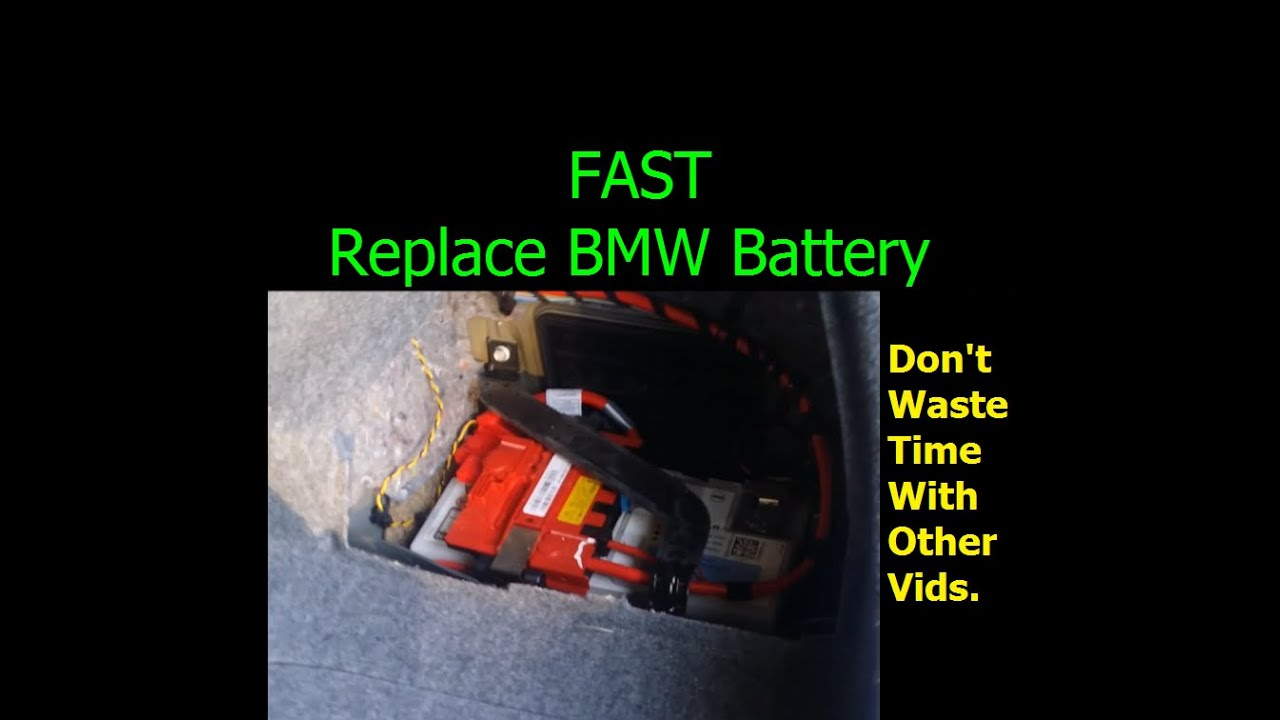 Fast - How To Replace Bmw 328i Battery