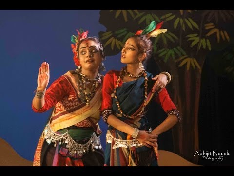 Chandalika dance drama choreographed and directed by Anurekha Ghosh