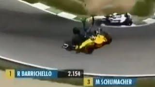 F1 2002 Austria GP Crash Takuma Sato VS Nick Heidfeld