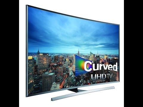 Samsung 120 (48) UHD 4K Curved Smart TV - JU7500 Series 7