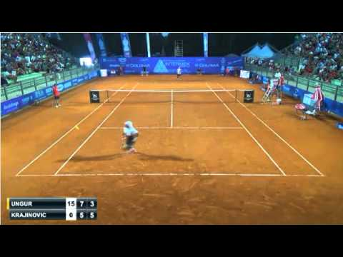 Amazing point Ungur-Krajinovic Cordenons Challenger final