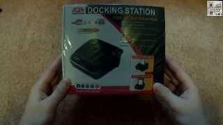 Док-станция для HDD AGESTAR 3CBTO1 (unboxing)