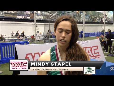Mindy Stapel - 2015 WAC ITF Pentathlon Champion