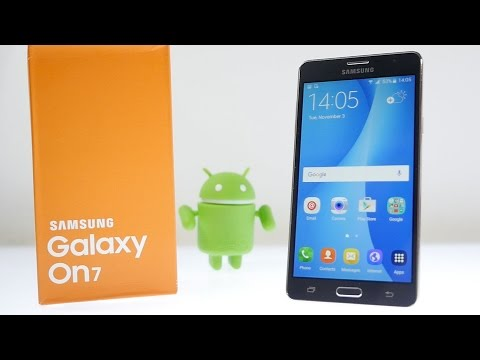 Samsung Galaxy On7 Smartphone Unboxing & Overview