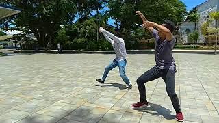 """Dancing to """"Lahi Ra Jud ang Davaweña"""""""