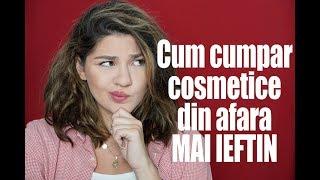 Gambar cover #BeautyLearning | Cum sa cumperi cosmetice din afara cat mai ieftin | Laura Musuroaea