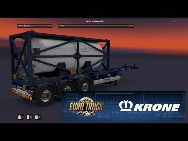 ETS2 - Krone DLC Review - Detalhes e informações sobre a DLC