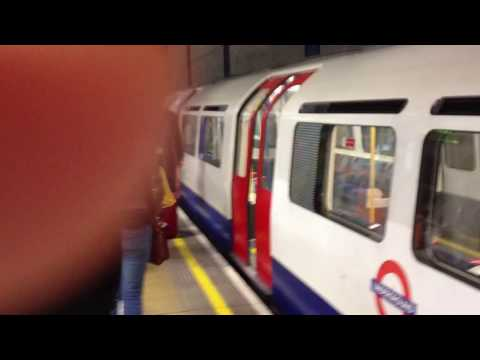 First ride on the London Metro - April 22, 2012