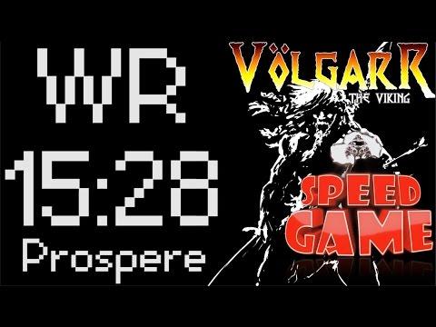 Speed Game Exceptionnel : Record du monde de Volgarr en 15:28 ! (Test Nouveau Format)