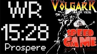 Speed Game Exceptionnel : Record du monde de Volgarr en 15:28 ! (Test Nouveau Format)