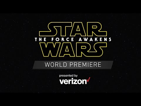 Star Wars: The Force Awakens World Premiere Red Carpet - YouTube