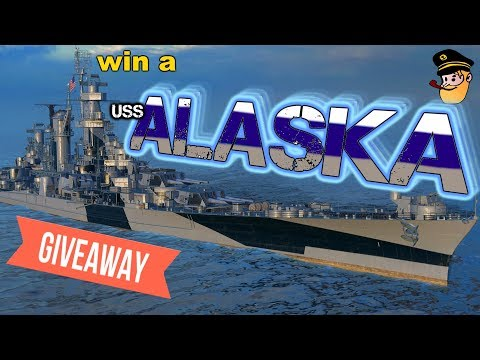 #4 WIN a USS ALASKA - The 1 MILLION DOLLAR BABY || World of Warships