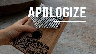 Apologize by Timbaland ft. One Republic (Kalimba Cover)