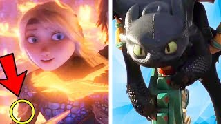 Everything You Missed in How To Train Your Dragon 3