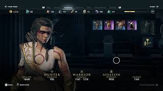 Assassin's Creed Odyssey - Kassandra Hunter's Outfit Ancient Greek War Paint Appearance (2018)