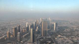 Dubai Burj Khalifa 2012 At the top